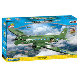 Cobi Douglas C47 Dakota Skytrain 550 pieces, 2 Figures
