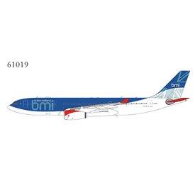 NG Models A330-200 BMI British Midland final c/s G-WWBM 1:400 +Preorder+