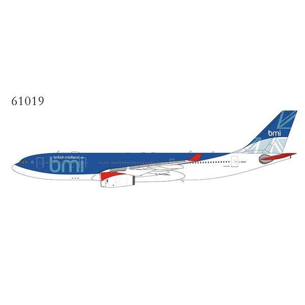 NG Models A330-200 BMI British Midland final c/s G-WWBM 1:400