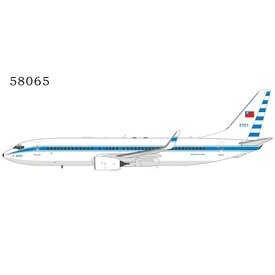 NG Models B737-800W Taiwan China Air Force RoCAF 3701 1:400