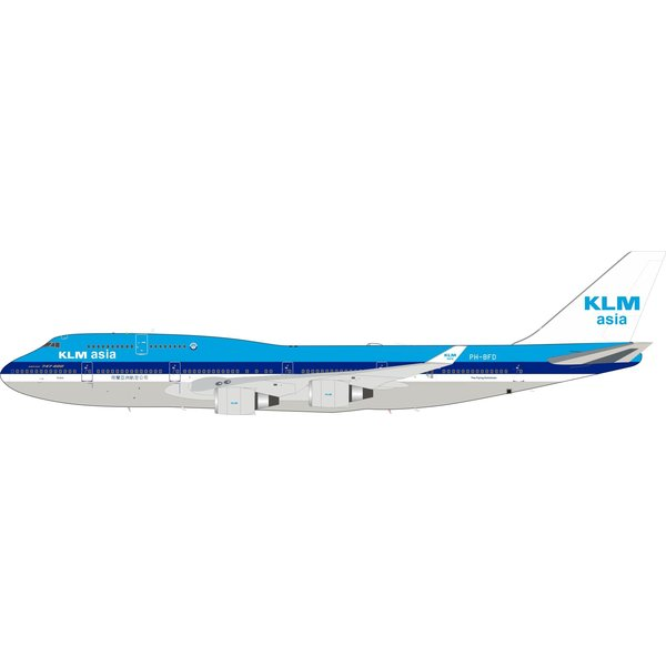 InFlight B747-400M KLM Asia Boeing PH-BFD 1:200 +Preorder+