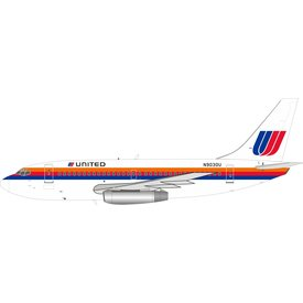 InFlight B737-200 United Saul Bass N9030U 1:200