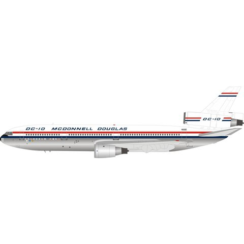 McDonnell Douglas DC10 House N10DC 1:200 polished +Preorder+