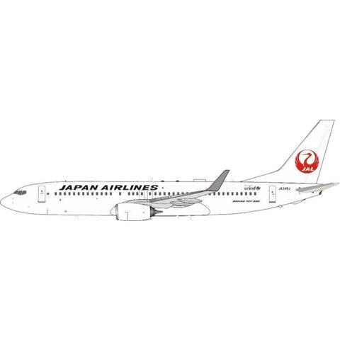 B737-800W JAL Japan Airlines JA349J 1:200