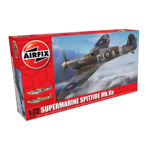 Spitfire MkVa 1:72 2016 re-issue