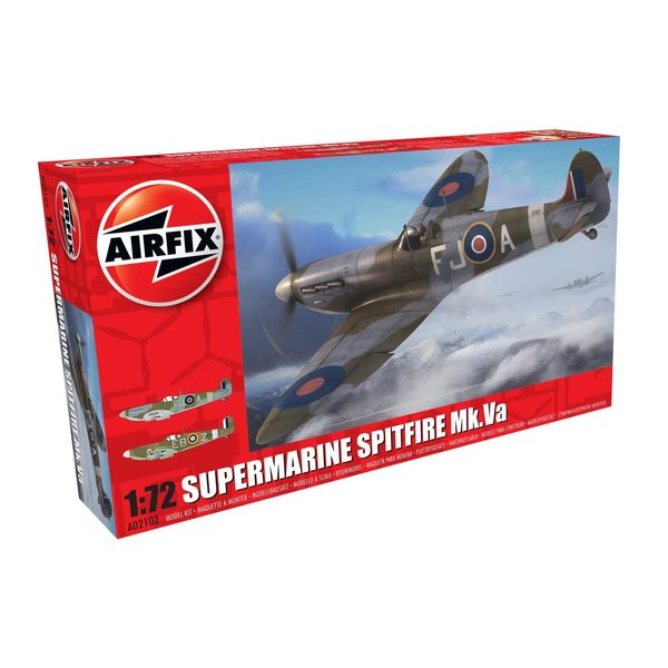 Airfix Spitfire MkVa 1:72 2016 re-issue