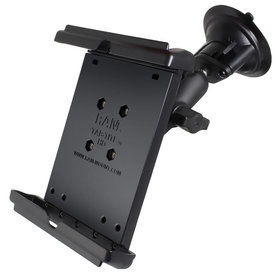 Ram Mounts Suction Mount For Ipad Mini with cover