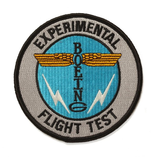 Boeing Store Boeing Heritage Totem Flight Test Patch