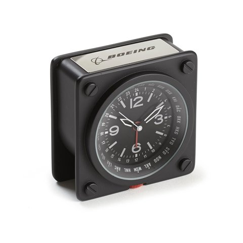 Boeing World Time Alarm Clock