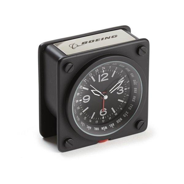 Boeing Store Boeing World Time Alarm Clock
