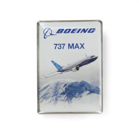 737MAX  Endeavors Lapel Pin