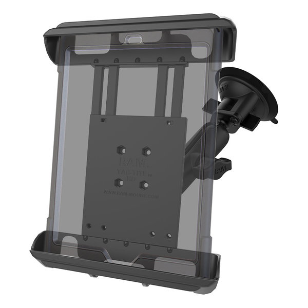 """Ram Mounts Suction Mount Ipad 1,2 Adjustable for10"""" tablets"""
