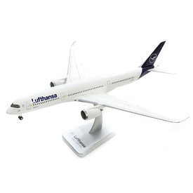 Hogan A350-900 Lufthansa 2018 New Livery D-AIXA 1:200 with gear