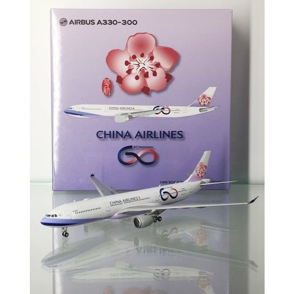 JC Wings A330-300 China Airlines 60th Anniv.B-18317 1:400