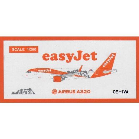 A320S Easyjet Europe Austria Livery OE-IVA 1:200