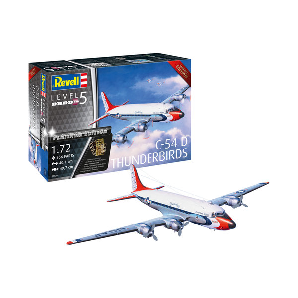 Revell Germany C54D Thunderbirds 1:72 Platinum edition with photo-etch