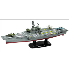 MotorMax Die Cast Aircraft Carrier 9 inch with 5 aircraft