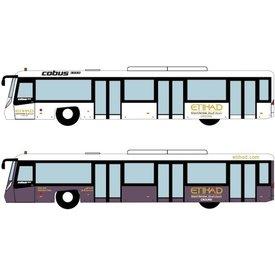 JC Wings Airport Bus Etihad 1:400 (4 in each set)