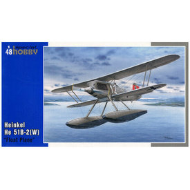 Special Hobby HE51B2(W) FLOAT PLANE 1:72 Scale Kit