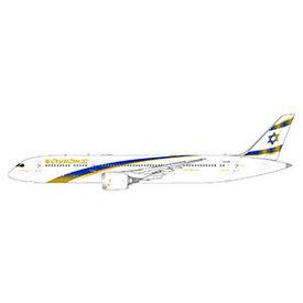 Gemini Jets B787-9 Dreamliner ELAL Jerusalem Gold 4X-EDM 1:400