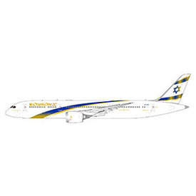 Gemini Jets B787-9 Dreamliner ELAL Jerusalem Gold 4X-EDM 1:400++FUTURE RELEASE++PREORDER++