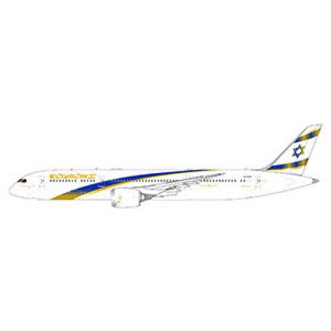 B787-9 Dreamliner ELAL Jerusalem Gold 4X-EDM 1:400