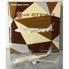 JC Wings B777-200LRF Etihad Cargo A6-DDD 2014 livery 1:400