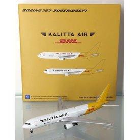 JC Wings B767-300ER(BCF) Kalitta Air DHL tail N763CK 1:400