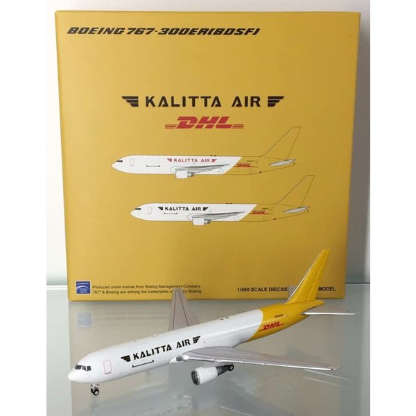 JC Wings B767-300ER(BCF) Kalitta Air DHL tail N763CK 1:400