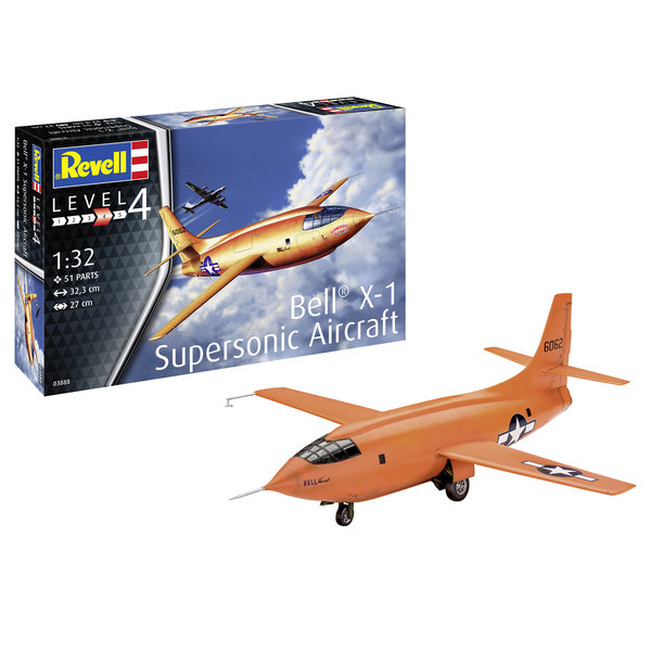 Revell Germany Bell X-1 1:32 2019 re-issue