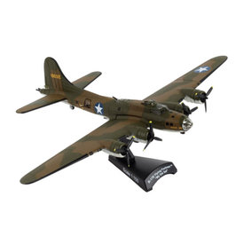 Postage Stamp Models B17E Flying Fortress My Gal Sal olive 1:155 with stand