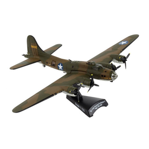 B17E Flying Fortress My Gal Sal olive 1:155 with stand