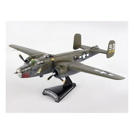Postage Stamp Models B25J Mitchell Briefing Time 9D 327638 camo 1:100