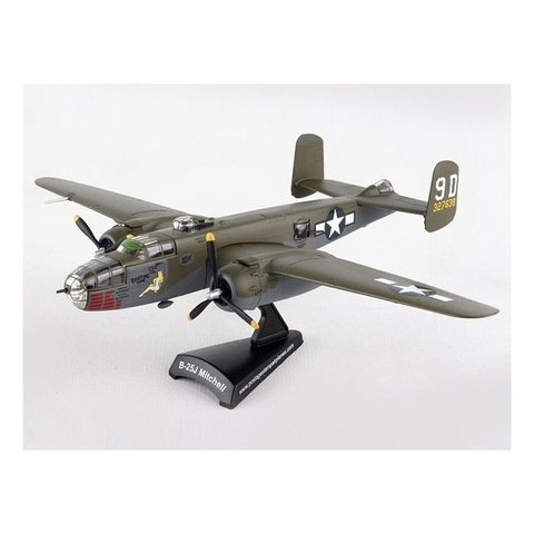 B25J Mitchell Briefing Time 9D 327638 camo 1:100