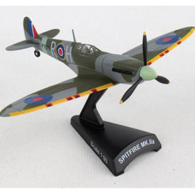 Postage Stamp Models Spitfire RAAF Australian R-H P7973 1:93 with stand