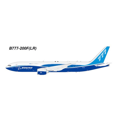 B777-200F(LR) Boeing House Livery N5020K 1:200 with stand
