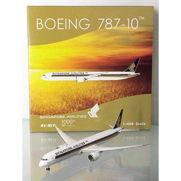 Phoenix B787-10 Dreamliner Singapore 1000th B787 9V-SCP 1:400