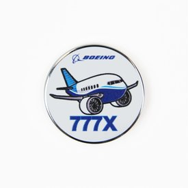 Boeing Store Pin Boeing 777x Pudgy