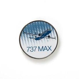 Boeing Store Pin B737 MAX Round