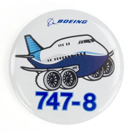 Boeing Store Button B747-8