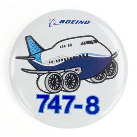 Boeing Store Button Boeing 747-8