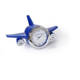 Boeing Store BOEING BLUE PLANE CLOCK