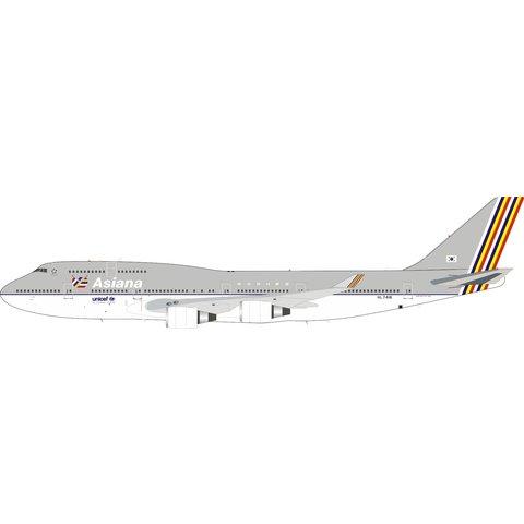 B747-400 Asiana old livery UNICEF HL7418 1:200