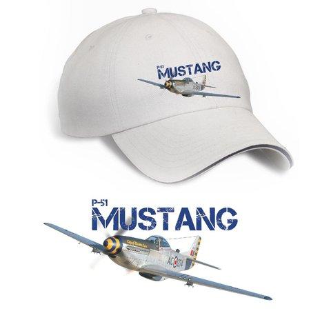 Cap P51 Mustang Printed Lab