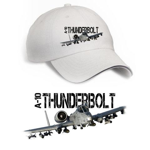 Cap A-10 Thunderbolt Printed