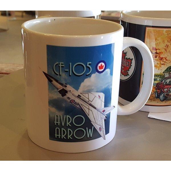 Coffee Mug - Avro Arrow #201
