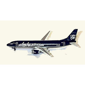 Dragon B737-4Q8 ALASKA [ BLACK ] 1:400*Discontinued*Ex-collection