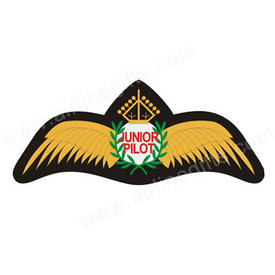 Patch Junior Pilot Iron-on