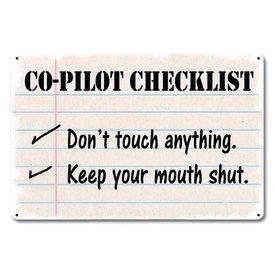 Sign Co-Pilot Checklist