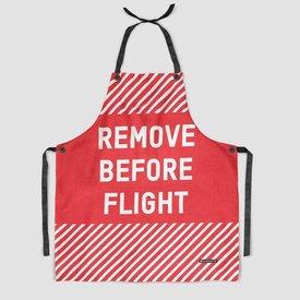 Remove Before Flight Kitchen Apron